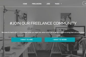 WordPress Freelance Marketplace Theme