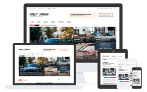 Public Opinion WordPress Theme