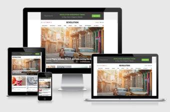 Revolution WordPress Theme for Blog & News