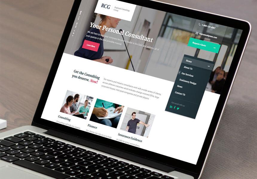 ConsultPress Mobile WordPress Theme
