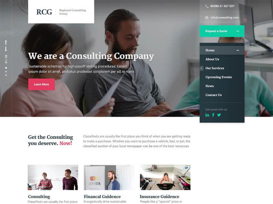 ConsultPress WordPress Theme