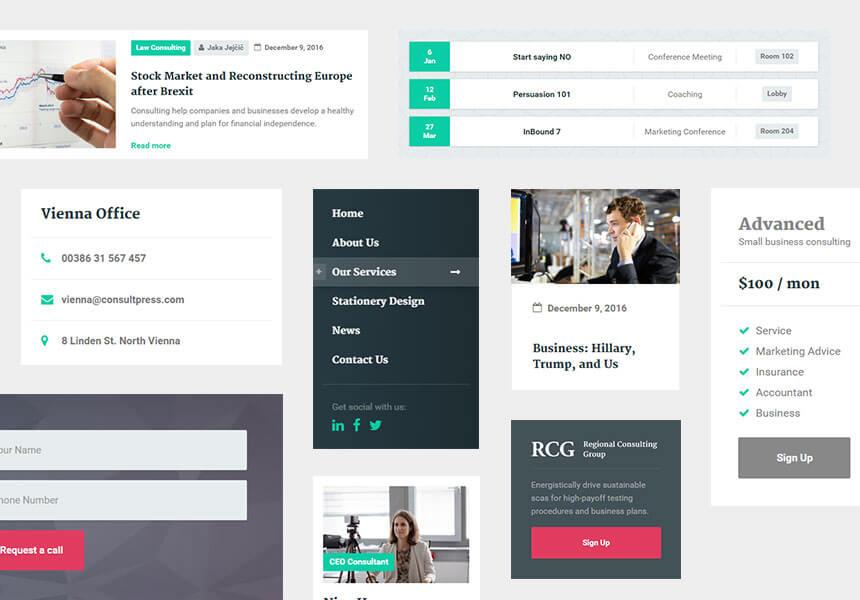 Dedicated ConsultPress WordPress Theme