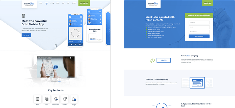 Dedicated Sales Page & Landing Page Templates