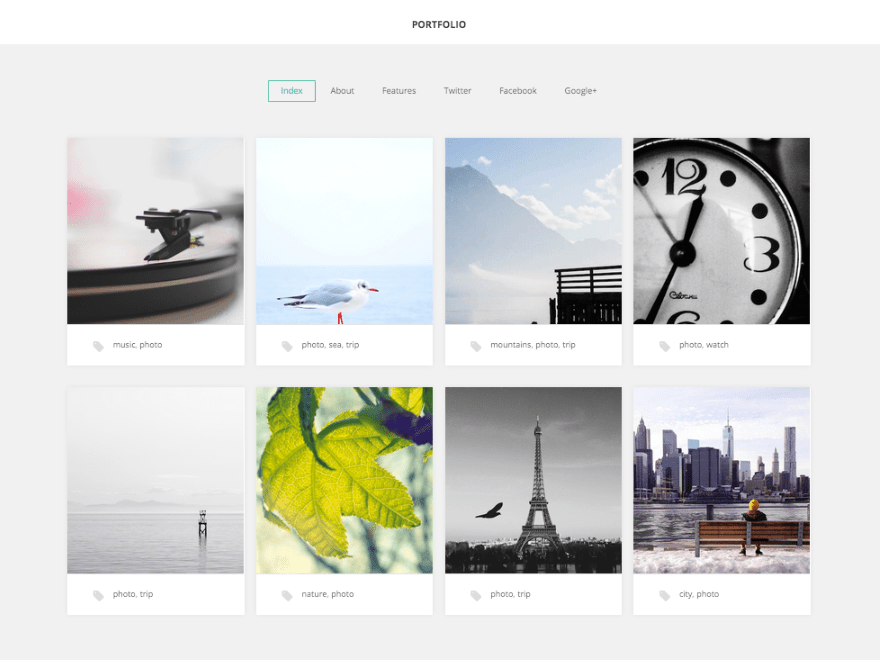 GK Portfolio WordPress Free Photography Theme
