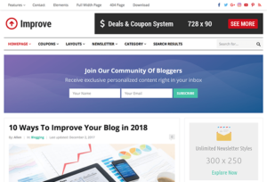 Improve WordPress Theme