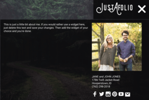 Justafolio WordPress Business Portfolio Theme