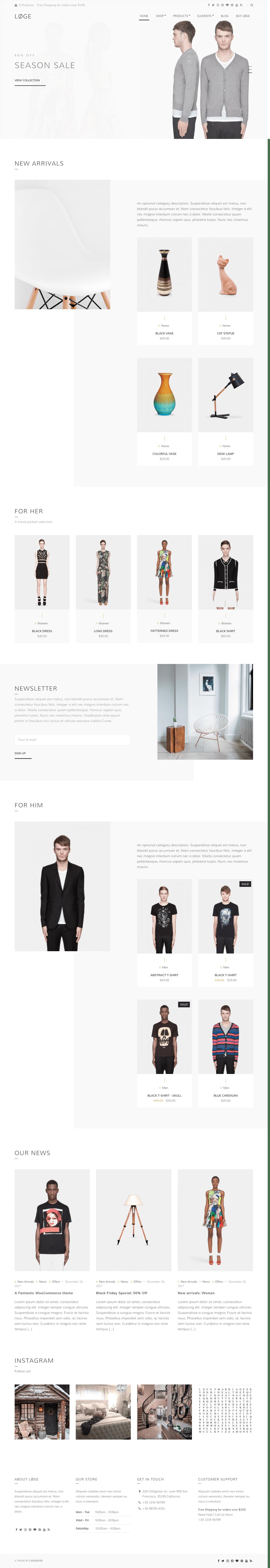 Loge WordPress Theme