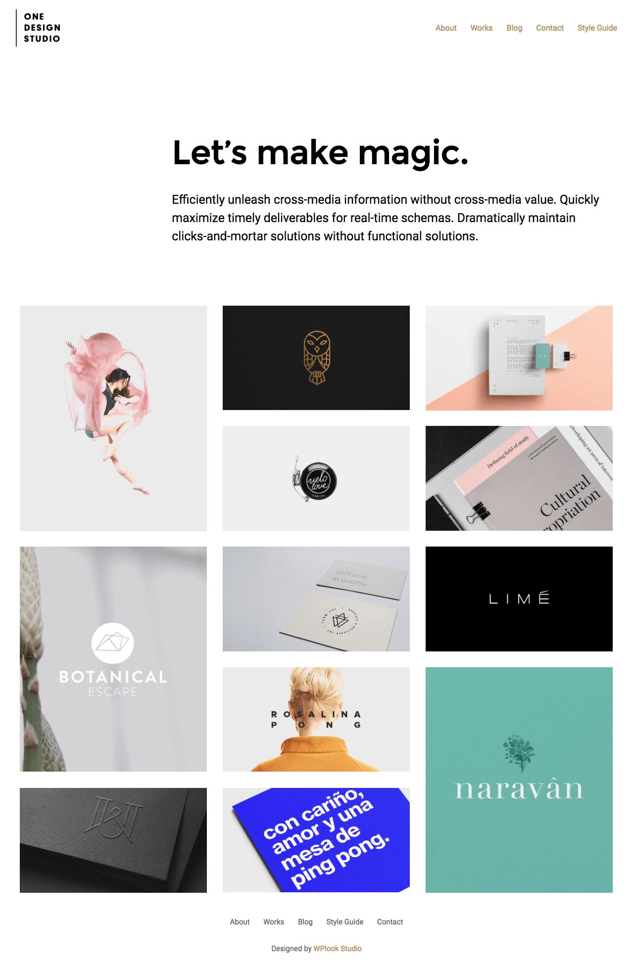 One Design Studio WordPress Theme-min