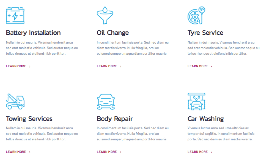 Auto Repair Shop WordPress Theme