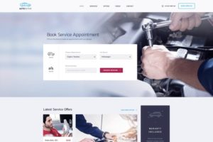Car Clinic WordPress Theme