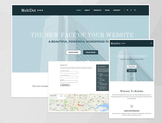 MultiDot WordPress Multipurpose Theme