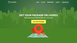 ShipMe WordPress Shipping Company Theme
