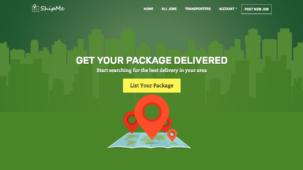 ShipMe WordPress Shipping Company Theme