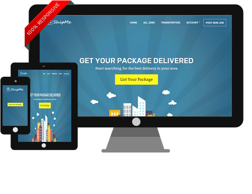 ShipMe WordPress Shipping Marketplace Theme