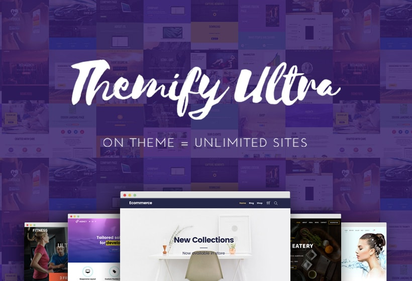 Ultra Drag Drop Multipurpose WordPress Theme