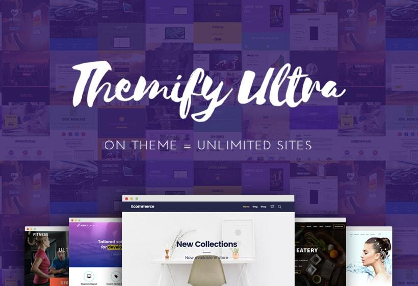 Ultra Drag Drop Multipurpose WordPress Theme