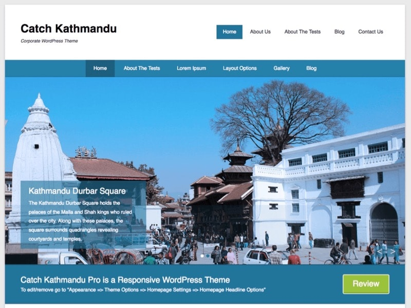 Catch Kathmandu Free Travel Photographer Theme
