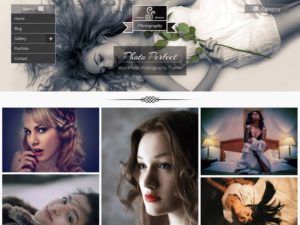 Photo Perfect Free Photography WordPress Theme