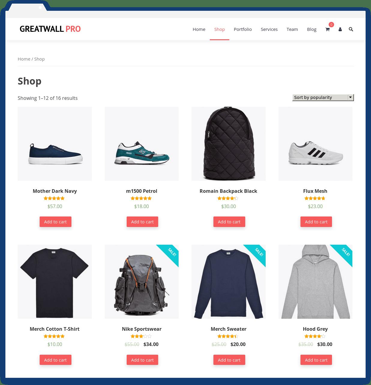 GreatWall Pro WordPress eCommerce Theme
