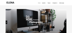 Elena WordPress Theme