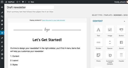 MailPoet Email Marketing WordPress Plugin