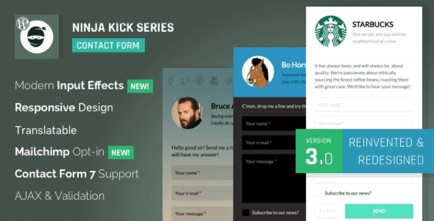 Ninja Kick Responsive Email Plugin for WordPress