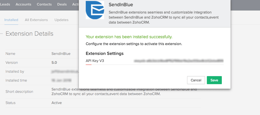 SendinBlue Email Marketing Plugin for WordPress