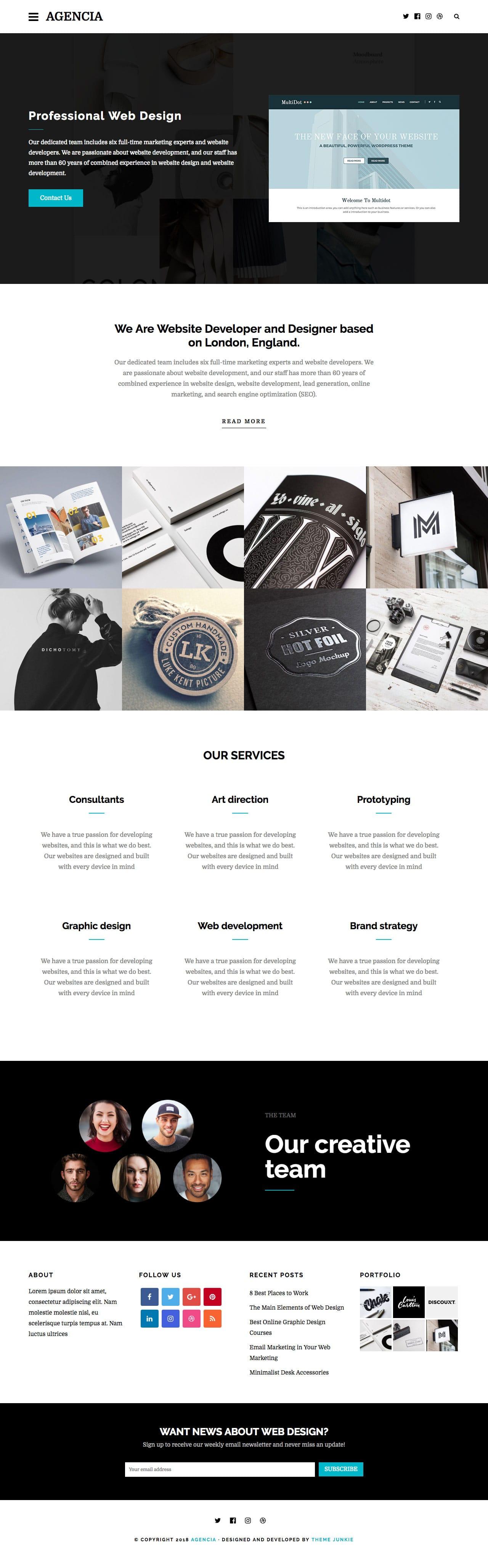 Agencia-WordPress-Theme