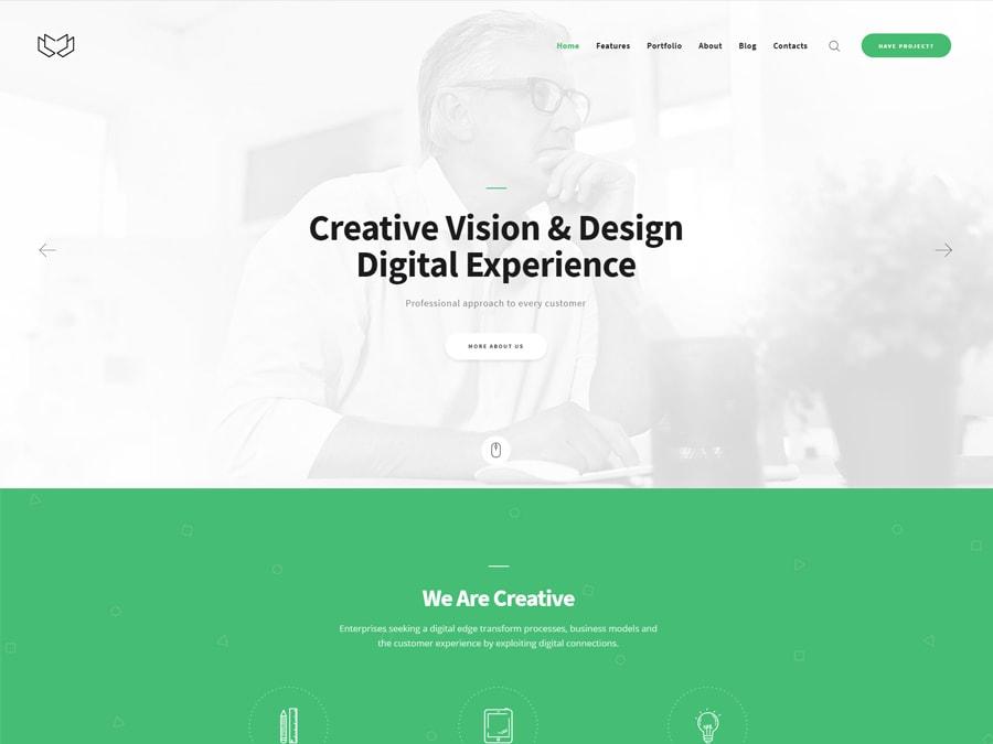 Deviox Multi-Purpose Business WordPress Theme