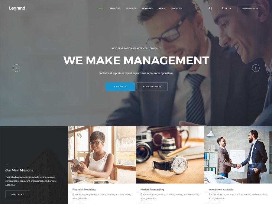 LeGrand Modern Multi-Purpose Business WordPress Theme