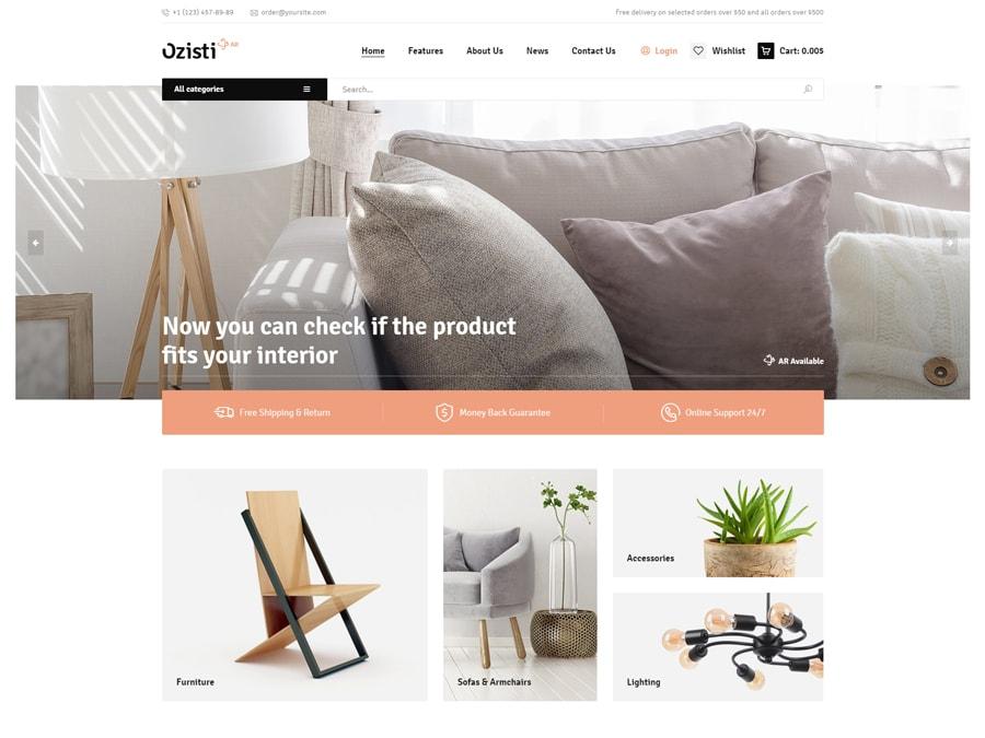 Ozisti Multi-Concept WooCommerce WordPress Theme