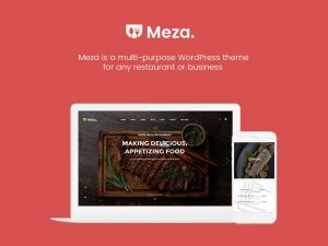 Meza WordPress Restaurant Food Theme