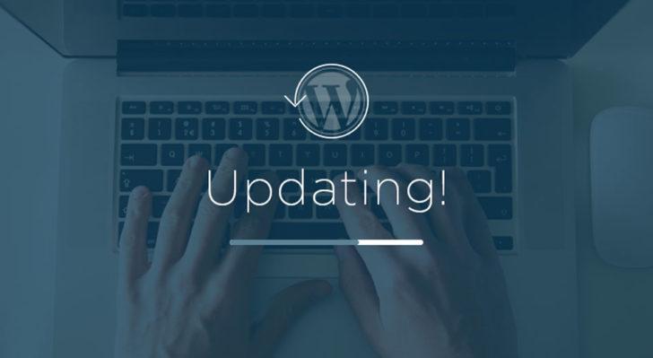 updating website with wordpress