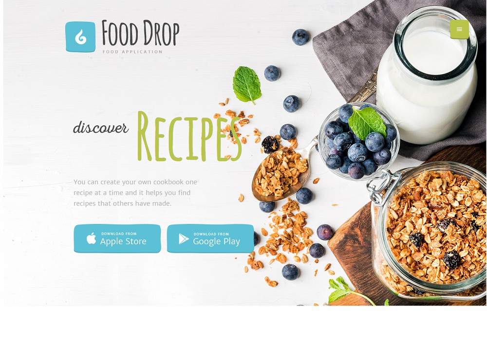 Food Drop – food ordering & delivery WordPress theme