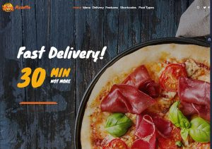 Pizzetta (Food Ordering WordPress Theme)