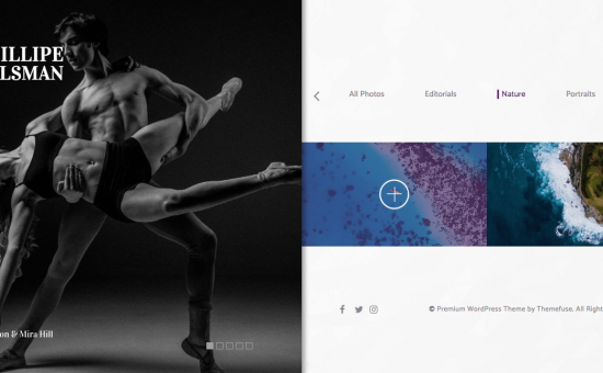 Shutter WordPress Photography Theme