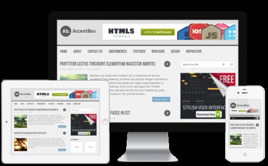 AccentBox Free Responsive HTML5 Theme