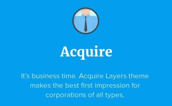 Acquire WordPress Business Service Theme