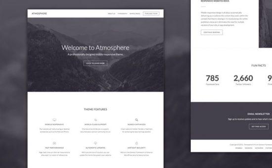Atmosphere Pro WordPress Business Theme