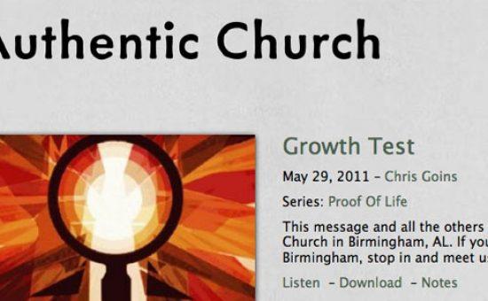 Authentic Church WP Theme