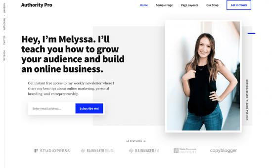 Authority Pro WordPress Theme