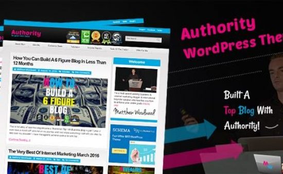 Authority WordPress Internet Affiliate Marketer Theme
