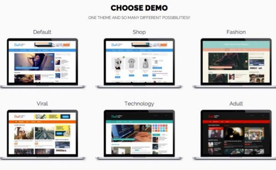 Best WordPress Magazine Style Theme