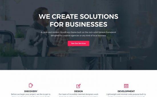 Business Pro WordPress Theme