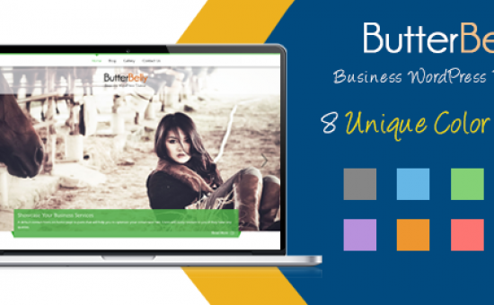 ButterBelly WordPress Business Portfolio Theme