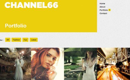 Channel66 WP Portfolio Theme