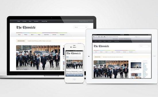 Chronicle WordPress Magazine Style Theme
