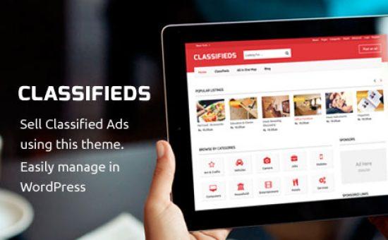 Classifieds WordPress Sell Ads Theme