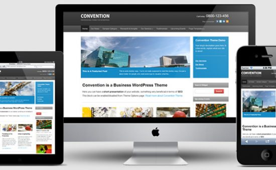 Convention Responsive WP Business Theme