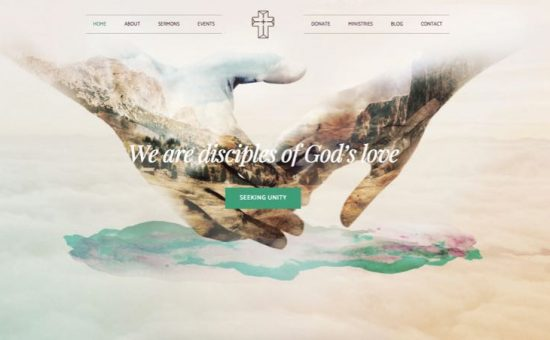 Creed WordPress Church or Donor Theme